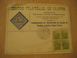CAMPOS 1948 Heroina Campista Benta Pereira Cancel Cover BRASIL Brazil Bresil - Brasilien