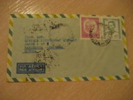 SALVADOR BAHIA 1947 To Barcelona Spain Air Mail Cancel Cover BRASIL Brazil Bresil - Brasilien