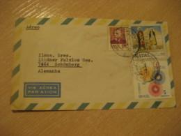 RIO DE JANEIRO 1970 To Schomberg Germany Air Mail Cancel Cover BRASIL Brazil Bresil - Brésil