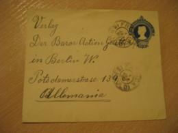 FRANCA 1913 To Berlin Germany Cancel Postal Stationery Cover BRASIL Brazil Bresil - Lettres & Documents