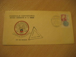 Correos 1975 Centenary Hydrographic Institute Of The Navy FDC Cancel Cover CHILE - Chili