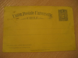 2 Centavos Colon Columbus UPU Postal Stationery Card CHILE - Chili