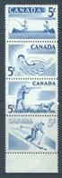 CANADA  - MNH/*** LUXE - 1957 - SPORT - Yv 292-295 - Lot 18488 - 1952-.... Règne D'Elizabeth II