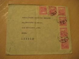CHILLAN 1939 To Roma Italy Cancel Cover CHILE - Chili