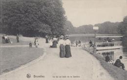 Belgique - Bruxelles - Lac Au Bois De La Cambre - Femmes - 1913 Cachet Antoing - Nells Série 1 N° 136 - Bossen, Parken, Tuinen