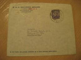 CONCEPCION 19?? To Chiguayante Stamp Cancel Cover CHILE - Chili