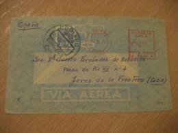COPIAPO 1971 To Jerez De La Frontera Cadiz Spain Stamp Cancel Meter Air Mail Cover CHILE - Chili