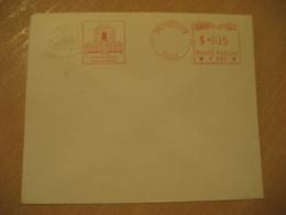 VALPARAISO Camara De Diputados Congreso Nacional Cancel Meter Mail Postage Paid Cover CHILE - Chili