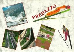 """Predazzo (Trento) """"Centro Salto Predazzo"""" Estivo - Invernale - Wintersport"""