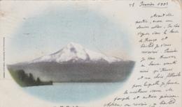 Etats-Unis - Oregon - Mont Hood - Volcan - Postmarked 1903 Astoria Malo-les-Bains 59 - Etats-Unis