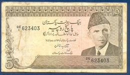 PAKISTAN - 5 Rupia (1983-1984) - Pakistan