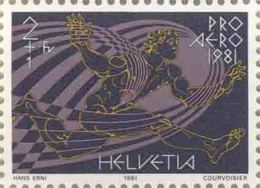 1981 Svizzera, Pro Aereo , Serie Completa Nuova (**) - Posta Aerea