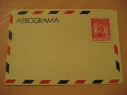 General Jose Antonio Anzoategui 0,45 Air Mail Aerograma Aerogramme Air Letter VENEZUELA - Venezuela
