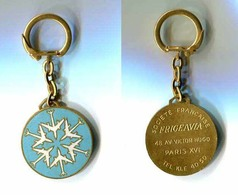 Porte-clés Métal émaillé : FRIGEAVIA - Aviation - Porte-clefs