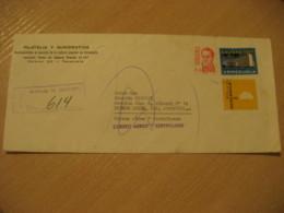 CARACAS 19?? To Buenos Aires Argentina Registered Air Mail Cancel Cover VENEZUELA - Venezuela