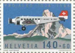 1989 Svizzera, Pro Aereo , Serie Completa Nuova (**) - Posta Aerea
