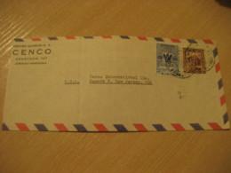 CARACAS 19?? To Newark USA Chemical Center CENCO Air Mail Cancel Cover VENEZUELA - Venezuela