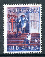 South Africa 1962 Christmas TB Label Used - South Africa (1961-...)