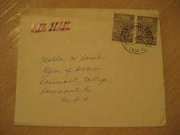 CARACAS 1954 To Rosemont USA Air Mail Cancel Cover VENEZUELA - Venezuela