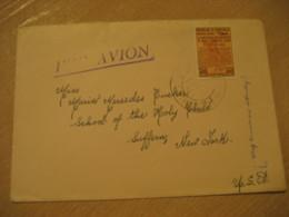 CARACAS 1954 To Suffern New York USA Air Mail Cancel Cover VENEZUELA - Venezuela