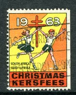South Africa 1963 Christmas TB Label Used - South Africa (1961-...)