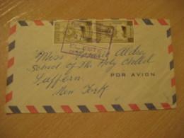 EL ESTE 1952 To Suffern New York USA Air Mail Cancel Cover VENEZUELA - Venezuela