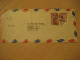 MARACAIBO 1954 To Montreal Canada Air Mail Cancel Cover VENEZUELA - Venezuela