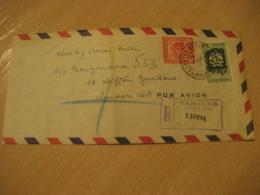 CARACAS 1955 To London England Air Mail Cancel Cover VENEZUELA - Venezuela