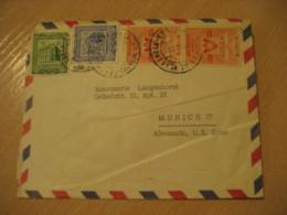 CARACAS 1955 To Munich Germany Air Mail Cancel Cover VENEZUELA - Venezuela