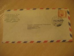 CARACAS 1953 To Philadelphia USA Air Mail Cancel Cover VENEZUELA - Venezuela