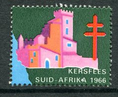 South Africa 1966 Christmas TB Label Used - South Africa (1961-...)