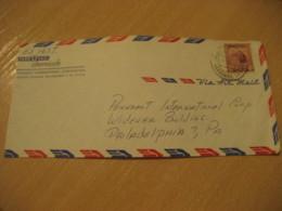 MARACAIBO 1953 To Philadelphia USA Air Mail Cancel Cover VENEZUELA - Venezuela
