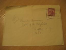 LA GUAIRA 1953 To Suffern NY USA Air Mail Cancel Cover VENEZUELA - Venezuela