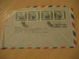 MARACAIBO 1953 ? To New York USA Air Mail Cancel Cover VENEZUELA - Venezuela