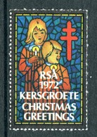 South Africa 1972 Christmas TB Label Used - South Africa (1961-...)