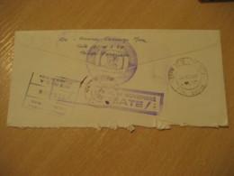 MERIDA De La Chiquinquira 1968 To New York USA Registered Meter Air Mail Cancel Cover VENEZUELA - Venezuela