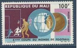 """Mali Aerien YT 38 (PA) """" Coupe Du Monde Football """" 1966 Neuf** - Mali (1959-...)"""