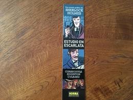 Marque Page Bd Ed Norma Sherlock Holmes - Marque-Pages