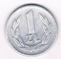 1 ZLOTY 1949 POLEN /8389/ - Pologne