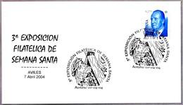 Exposicion Filatelica De SEMANA SANTA. Aviles, Asturias, 2004 - Cristianismo