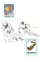 """Sestriere (Torino) """"Campionati Mondiali Sci Alpino, Sestrieres '97"""", Poste Italiane Official Supplier - Winter Sports"""