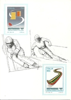 "Sestriere (Torino) ""Campionati Mondiali Sci Alpino, Sestrieres '97"", Poste Italiane Official Supplier - Wintersport"