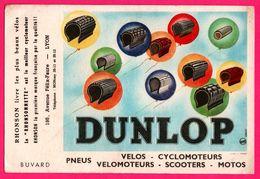 BUVARD - DUNLOP - Pneus - Vélo Cyclomoteur Scooter Moto - RHONSON Lyon (69) Rhonsonnette - LERUTH - Automobile