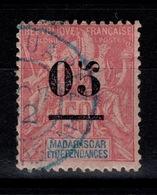 Madagascar - YV 48 Oblitere DIEGO SUAREZ En Bleu Type Groupe Cote 5,50 Euros - Used Stamps