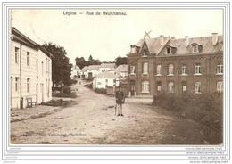 LEGLISE ..--  Rue De NEUFCHATEAU . C'est L' FACTEUR !! . 1909 Vers SAINT - JOSSE ( Melle R. LAUDY ) . Voir Verso . - Léglise