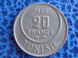 TUNISIE 20 FRANCS 1950 - Tunisie
