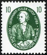 EULER, L. - DDR 1957 -  Michel # 575 MNH ** Mathematician, Physicist, Mathematics, Physics - Wissenschaften