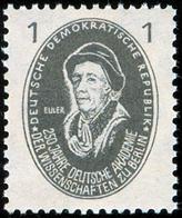 EULER, L. - DDR 1950 -  Michel # 261 MNH ** - Mathematician, Physicist, Mathematics, Physics - Wissenschaften
