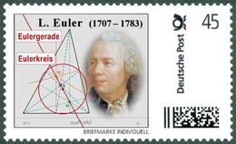 EULER, L. - Euler Straight Line, Euler Circuit - Mathematics - Mathematician - Marke Individuell - Wissenschaften