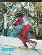 "Pubblicitaria ""Artex"" Cross Country Shoes E Maurilio De Zolt, The Lillehammer Olympics Gold Medal Winner 1994 - Winter Sports"